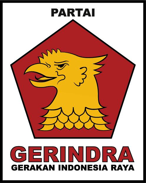 Lambang Partai erindra terdiri dari :